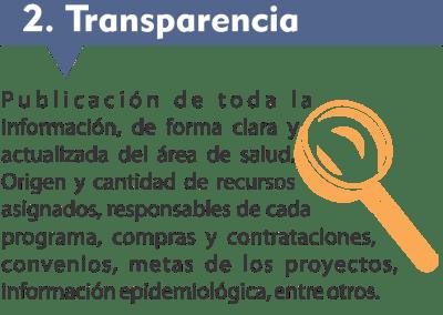 2. Transparencia: publicar todo