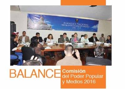 Balance 2016: Comisión del Poder Popular y Medios de Comunicación
