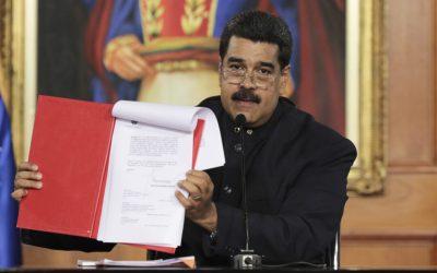 La convocatoria presidencial a una Asamblea Nacional Constituyente es un fraude a la democracia
