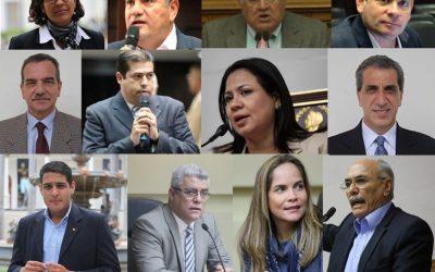 ¿Cuáles son los diputados que irán por las gobernaciones?