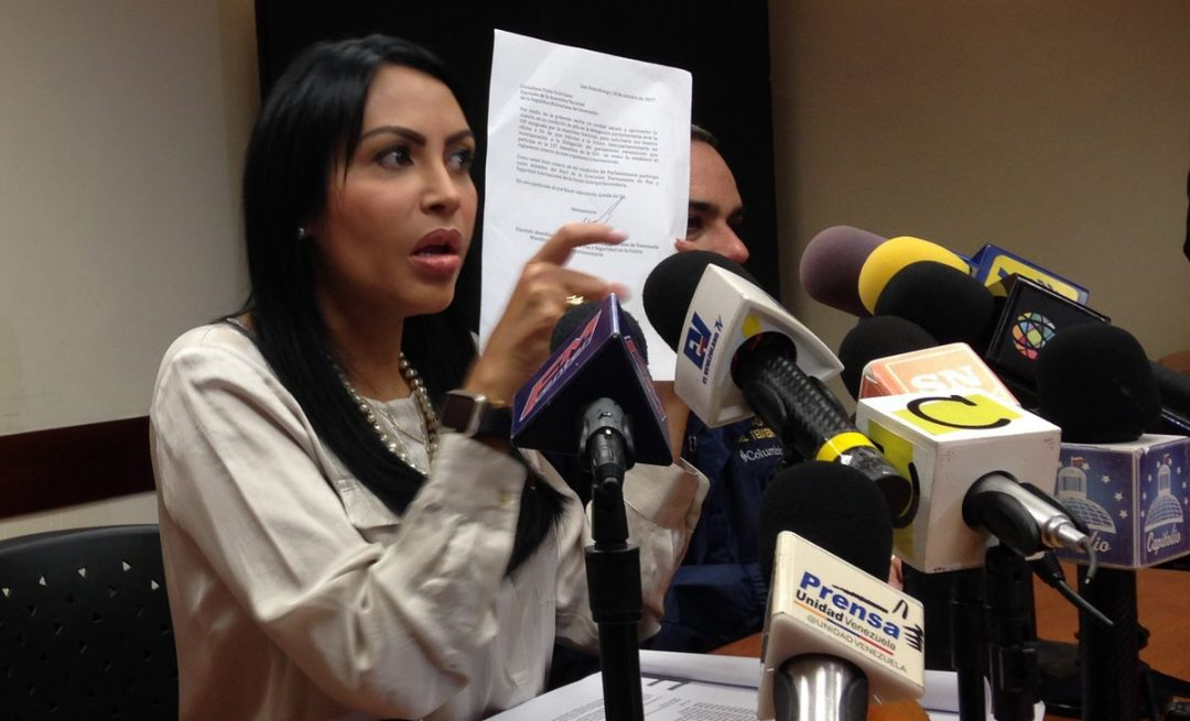 Solórzano: UIP plantea visita a Venezuela para constatar crisis humanitaria y agresiones a la AN