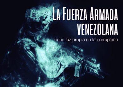La Fuerza Armada venezolana tiene luz propia en la corrupción