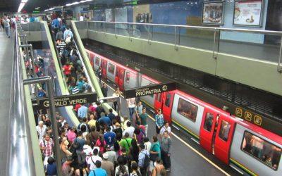 Metro de Caracas, viaje en retroceso