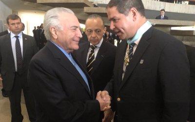 """Presidente de Brasil otorga orden """"Cruzeiro del Sur"""" a diputado Luis Florido"""