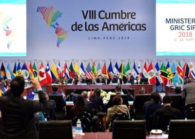 Compromiso de Lima observa, a medias, las recomendaciones presentadas por las organizaciones de la sociedad civil
