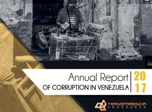 Annual report of corruption in Venezuela