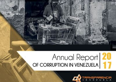 Annual report of corruption in Venezuela