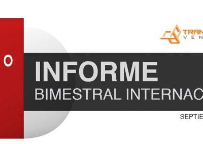 Tercer informe bimestral internacional