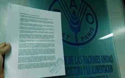Petitorio FAO Venezuela – 16 de octubre de 2018