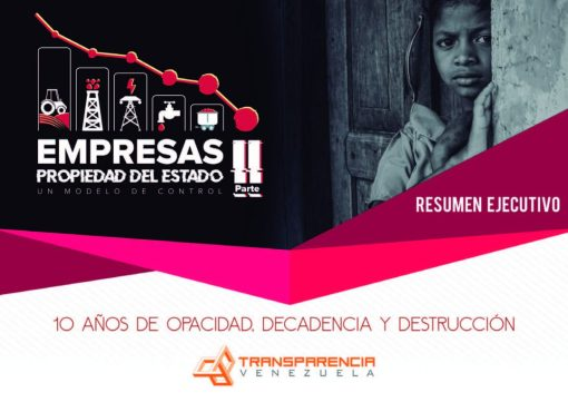 Venezuelan crisis is closely related to corruption and poor performance of the 576 State-Owned Enterprises