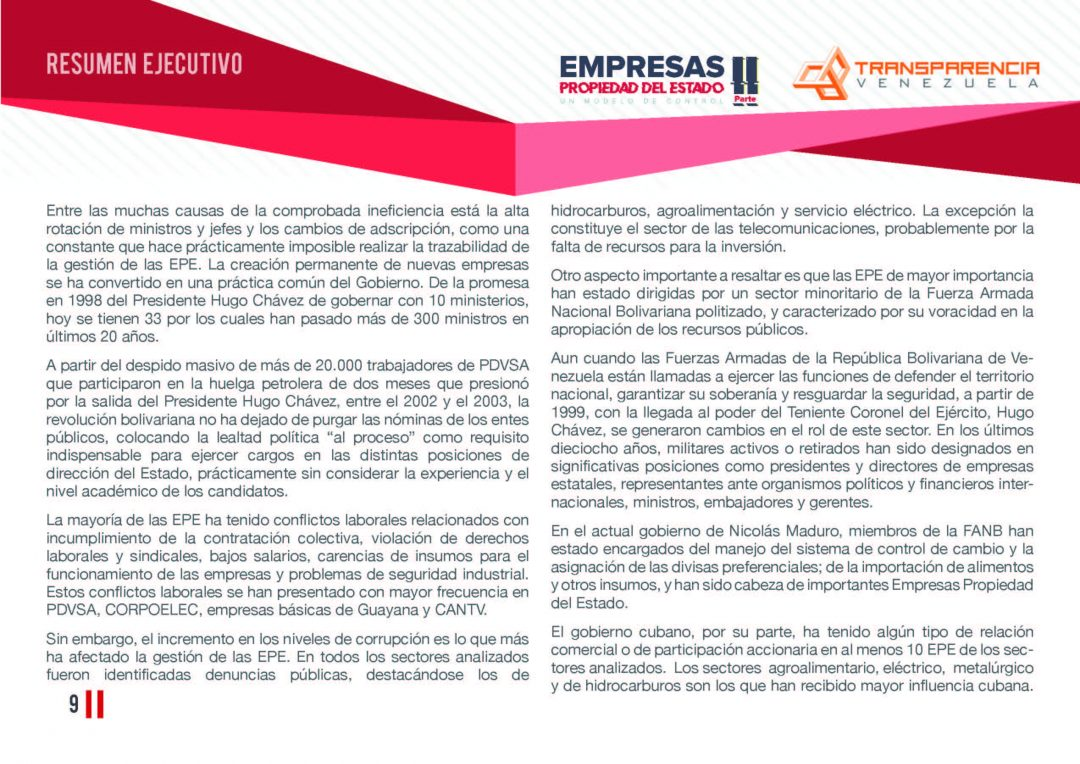 EPE II - Resumen ejecutivo, Transparencia Venezuela_Página_09
