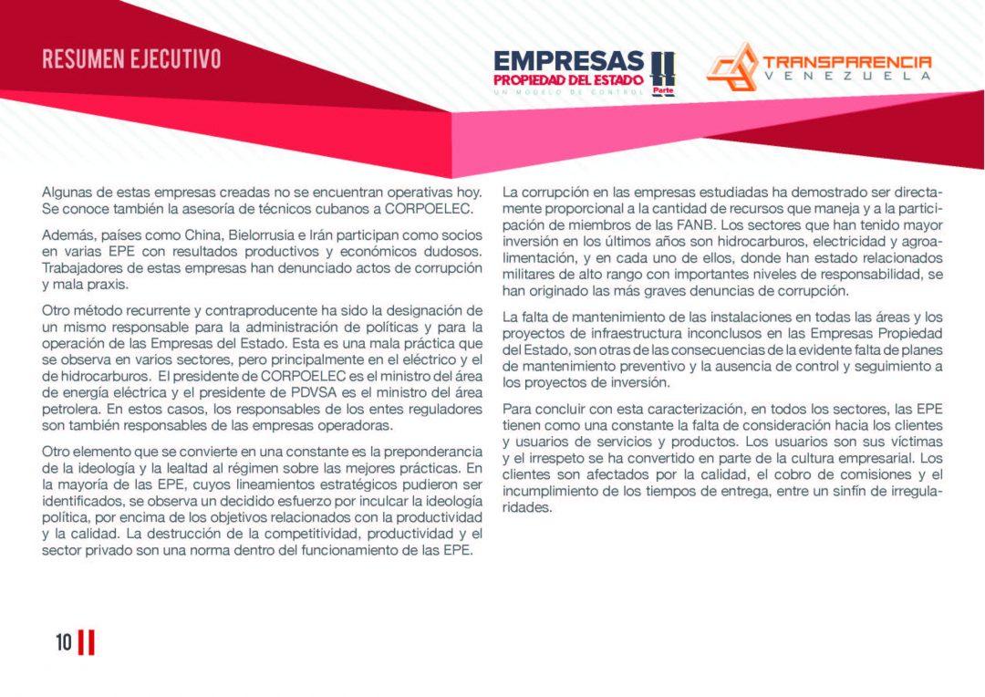 EPE II - Resumen ejecutivo, Transparencia Venezuela_Página_10