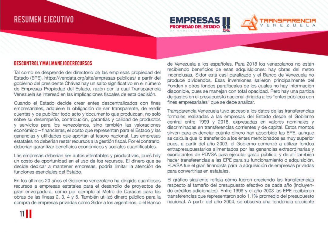 EPE II - Resumen ejecutivo, Transparencia Venezuela_Página_11