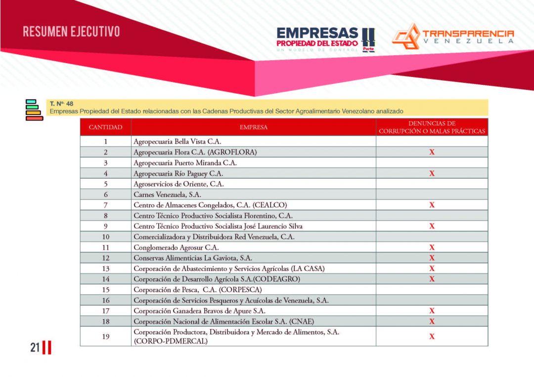 EPE II - Resumen ejecutivo, Transparencia Venezuela_Página_21