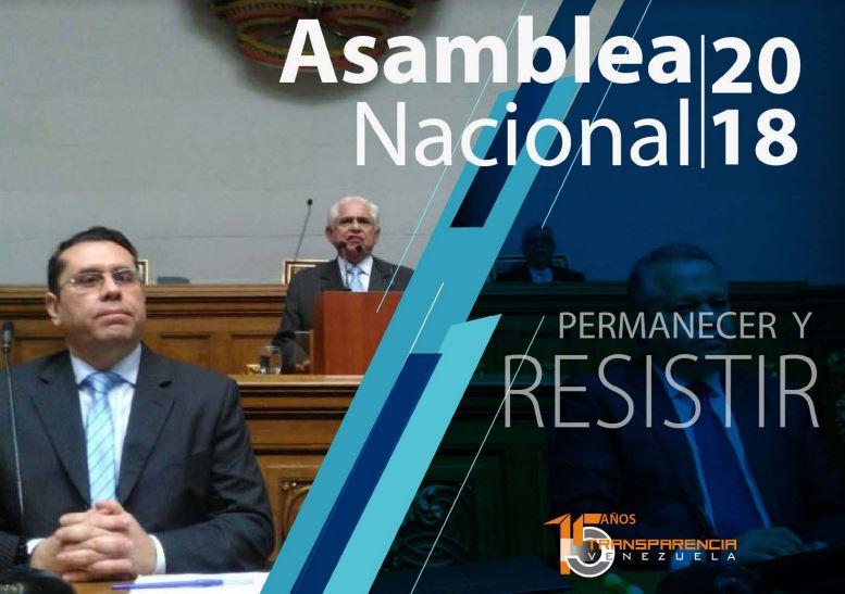 Informe 2018 / Pese al asedio la Asamblea Nacional no retrocedió ni cejó en sus responsabilidades