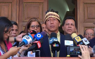 Diputado Guzamana: se presume que son 25 los indígenas muertos a mano de la represión