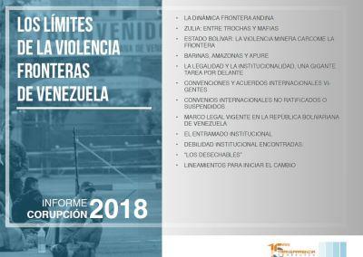 Los límites de la violencia: fronteras de Venezuela