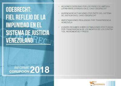 Odebrecht: fiel reflejo de la impunidad en el sistema de justicia venezolano