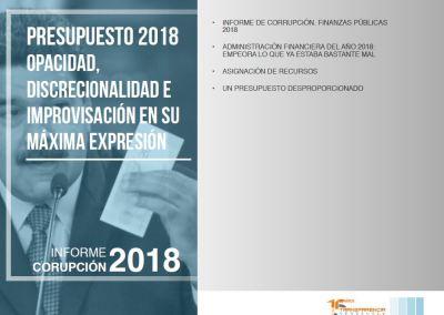 Presupuesto 2018. opacidad, discrecionalidad e improvisación en su máxima expresión