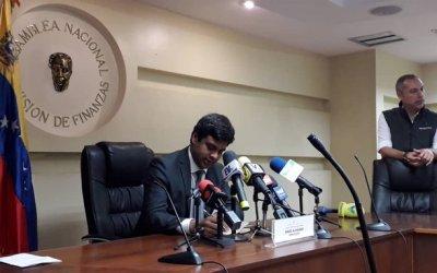 Asamblea Nacional: actividad económica de Venezuela cayó un 43%
