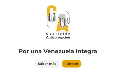 260 organizaciones de la sociedad civil venezolana se unen en una gran Coalición Anticorrupción