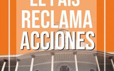 A la Asamblea Nacional: El país reclama acciones