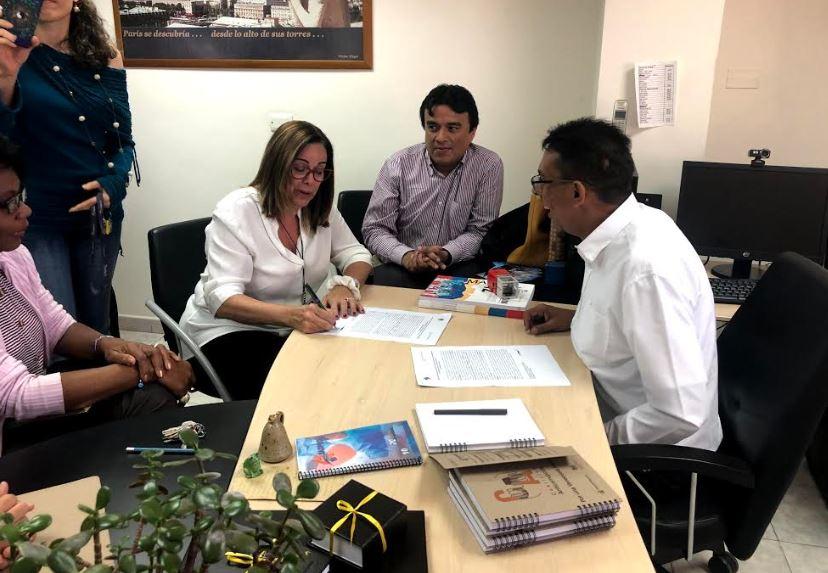 Transparencia Venezuela y Sadpro-UCV firman convenio de cooperación