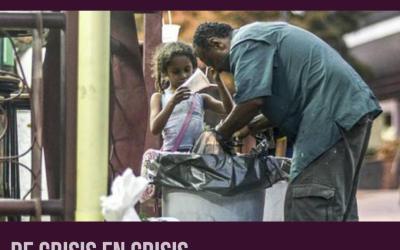Transparencia Venezuela retrata la crisis humanitaria del pais exacerbada por la escasez de combustible y el distanciamiento social