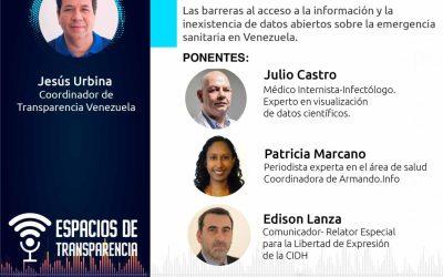 "Transparencia Venezuela inicia ciclo de eventos virtuales ""Espacios de Transparencia"""
