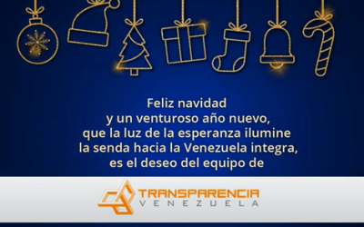 Transparencia Venezuela envía a los venezolanos su mensaje en época de Navidad y Año Nuevo