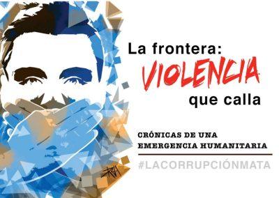 Las frontera violencia que calla