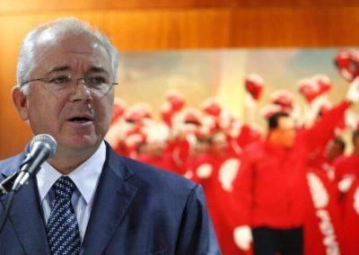 Rafael Ramírez, rojo rojito