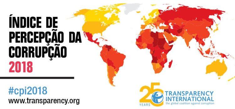 Índice de Perceção da Corrupção 2018 confirma estagnação de Portugal no combate à corrupção
