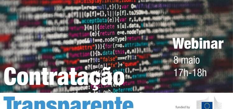 Webinar: Contratação Transparente: Monitorização Cívica & Dados Abertos