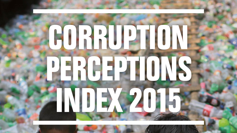 2015 Corruption Perceptions Index