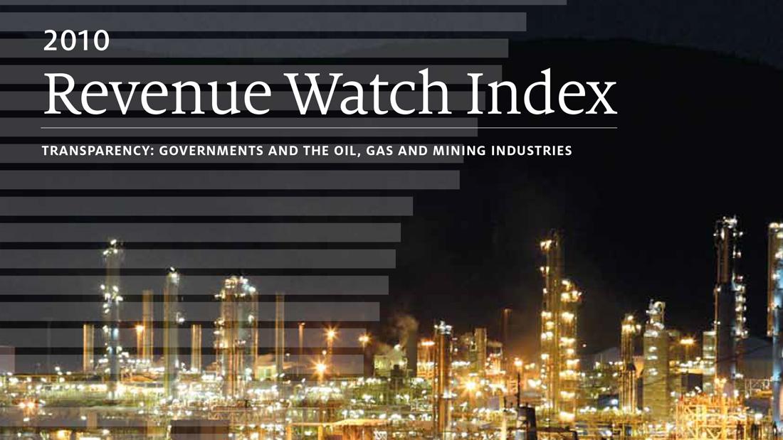 Revenue Watch Index 2010