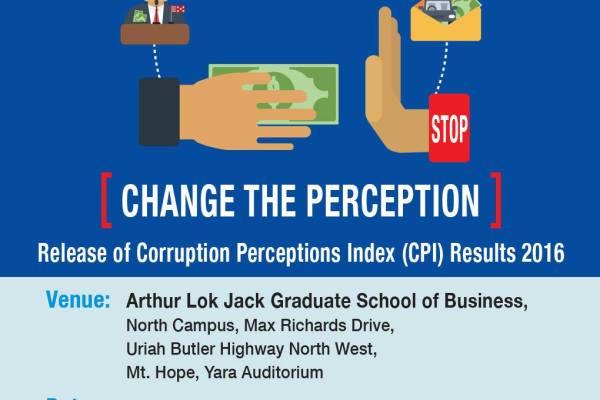 Release of Corruption Perceptions Index (CPI) 2016