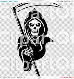 clipart grim reaper 2 royalty free vector illustration by vector grim reaper  [ 1080 x 1024 Pixel ]