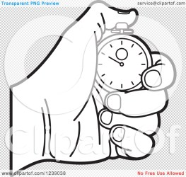 stopwatch hand holding clipart illustration background royalty vector transparent perera lal clip clipartof