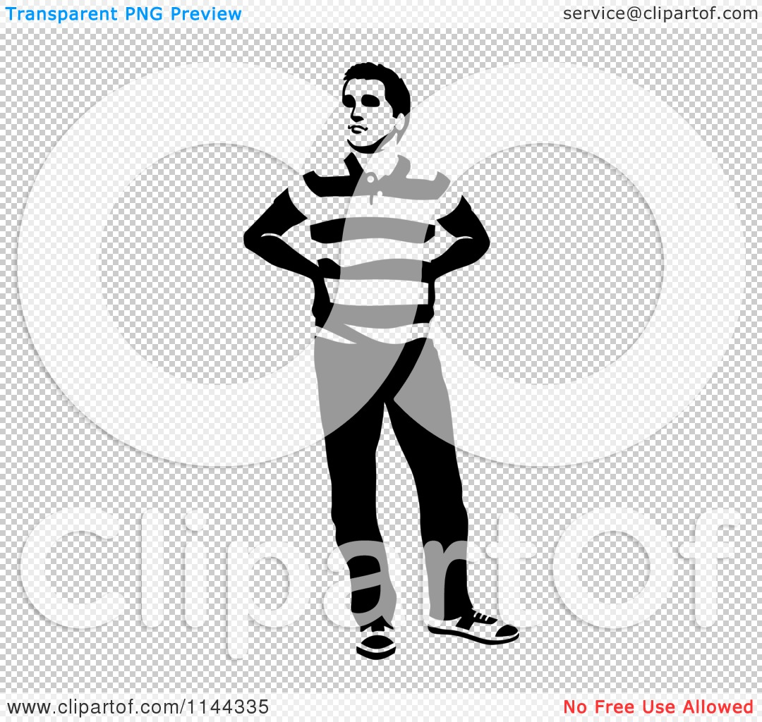 Person Standing Clipart