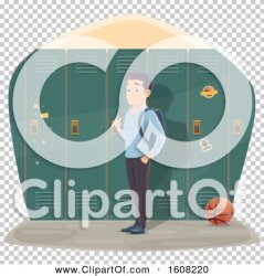 student lockers royalty male vector clipart tradition sm