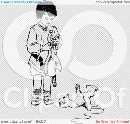 teddy bear standing clipart illustration boy retro vector royalty prawny description clipartof