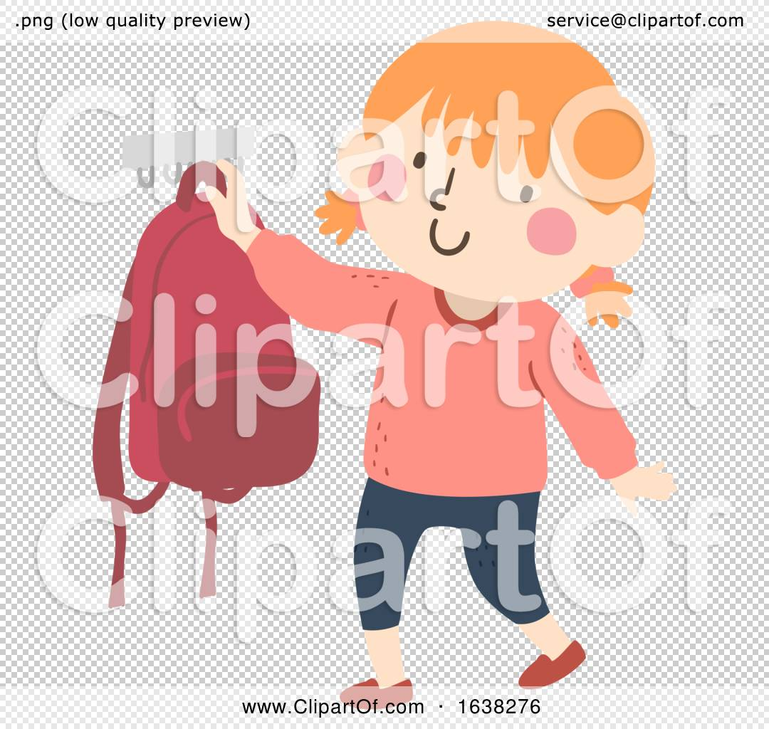 Kid Girl Hang Bag After School Routine By Bnp Design Studio