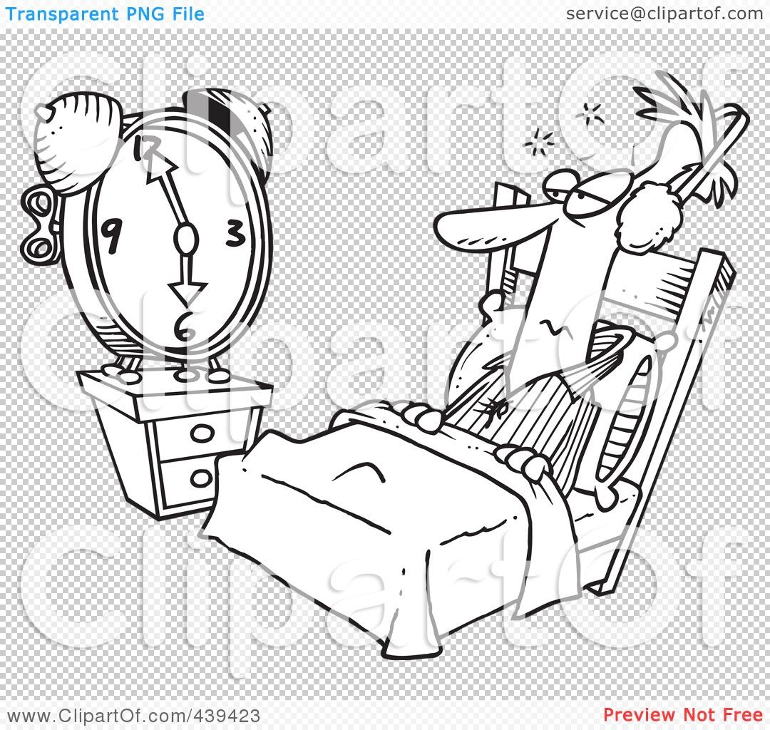 Royalty Free Rf Alarm Clock Clipart Illustrations