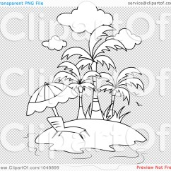 Floating High Chair Bing Bag Royalty-free (rf) Clip Art Illustration Of A Coloring Page Outline Lounge On ...