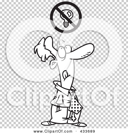 Royalty-Free (RF) Clipart Illustration of Coloring Page