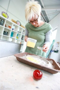 Sue Parry Hot Glass Casting