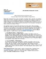 Transparet Payson Press Release 1