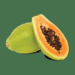 papaya background fruit transparent island clipart exotic tropical hookah ea per transparentpng