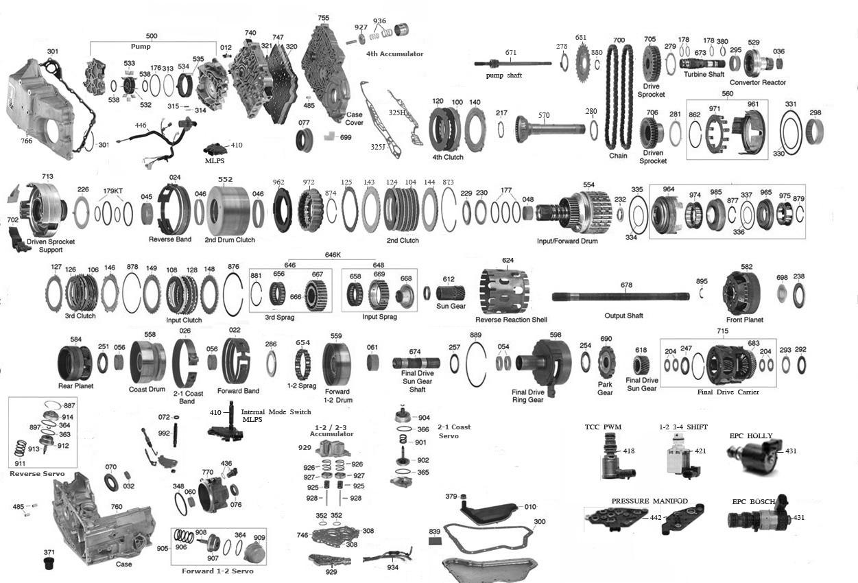 hight resolution of trans parts online 4t60e 4t65e transmission parts 4t65e solenoid location 4l80e tcc solenoid location